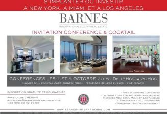 Conférence Barnes Immobilier