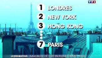 Barnes et l'investissement immobilier de luxe à Paris – TF1