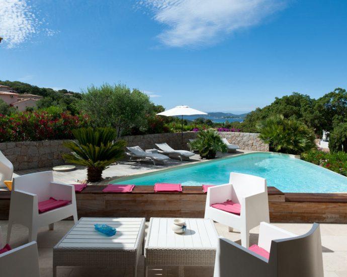 Porto vecchio, Arasu, Villa 5 chambres, piscine et vue mer, Villa Apolline RL169