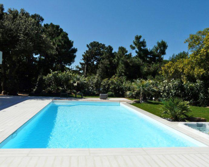 Porto Vecchio, Domaine de Cala Rossa, villa La Maison Blanche, 6 chambres, piscine, proche plage, RL33