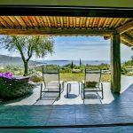 Porto Vecchio, Palombaggia, location villa 5 chambres, piscine et vue mer, Casa Di Museu RL225