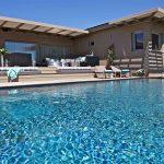 Bonifacio, sperone, villa La Rose Des Vents, 4 chambres, vue mer, piscine, RL140