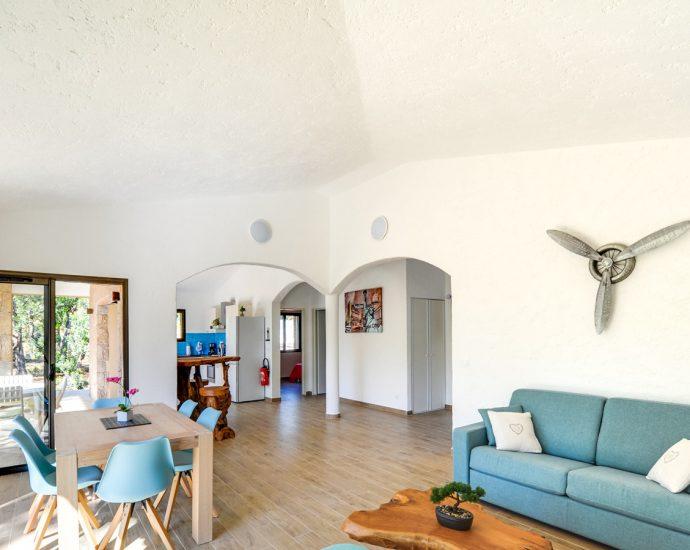 Porto Vecchio, Domaine de Cala Rossa, villa 2 chambres, proche plage, Villa La Bergerie de Cala Rossa RL214