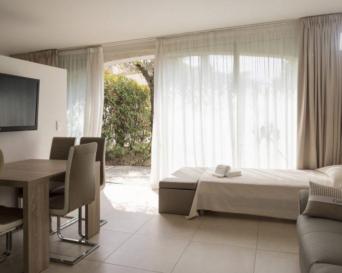 Porto Vecchio, Domaine de Cala Rossa, appartement 1 chambre, proche plage, RL21 Blue Garden