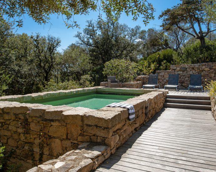 Golfe du Valinco, villa 3 chambres, piscine et proche plage, RL262 A Muredda