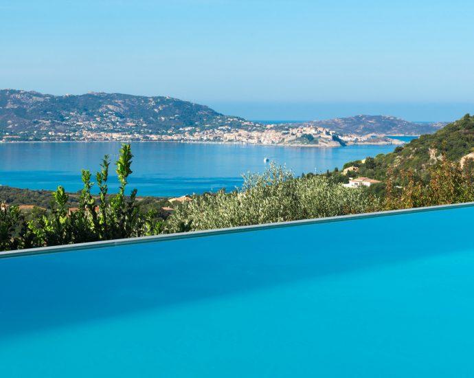 Villa vue mer panoramique, Lumio, 4 chambres, RL267 Villa du Golfe