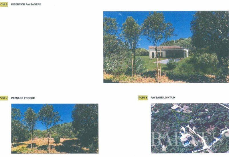 BONIFACIO – Terrain de 1390 m² – Plage à pieds- SOUS OFFRE