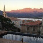 Calvi, villa moderne 7 chambres, piscine, vue mer, plage à pieds