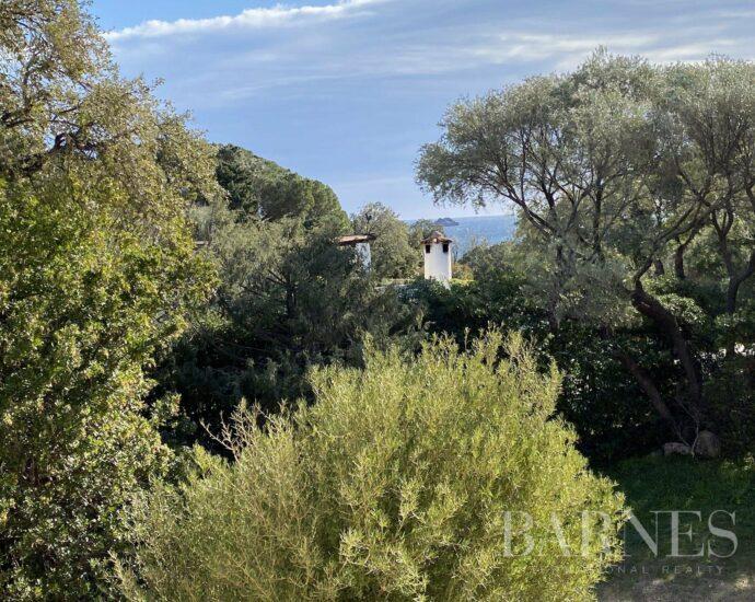 Sous offre – Pinarello, au coeur du village marin , villa aperçu mer, 3 chambres