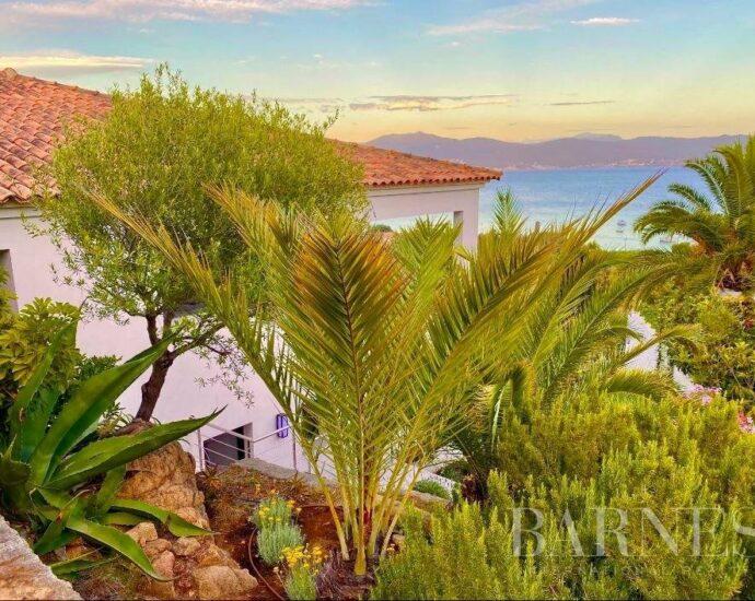 Ajaccio, Villa contemporaine, 6 chambres, piscine, vue mer panoramique, plage à pieds