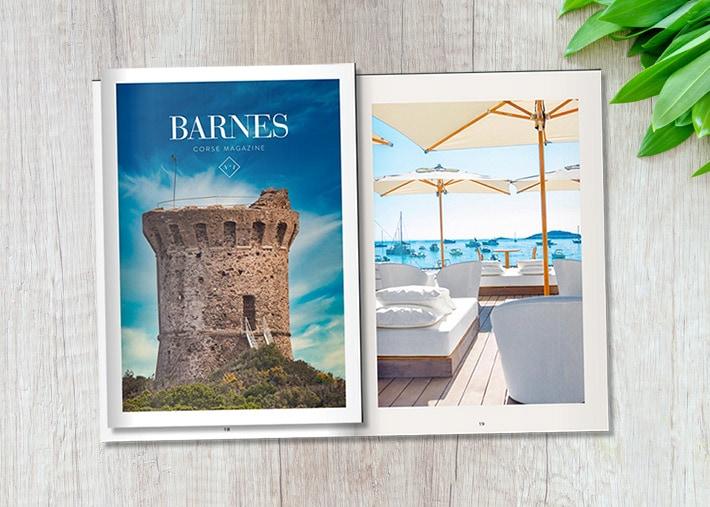 Notre magazine BARNES Corse